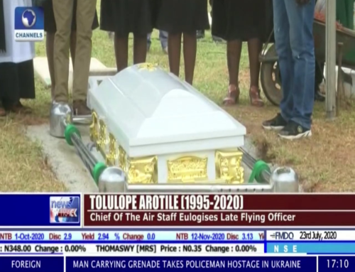 First Female Combat Helicopter Pilot, Flight Officer, Tolulope Arotile, Laid to Rest