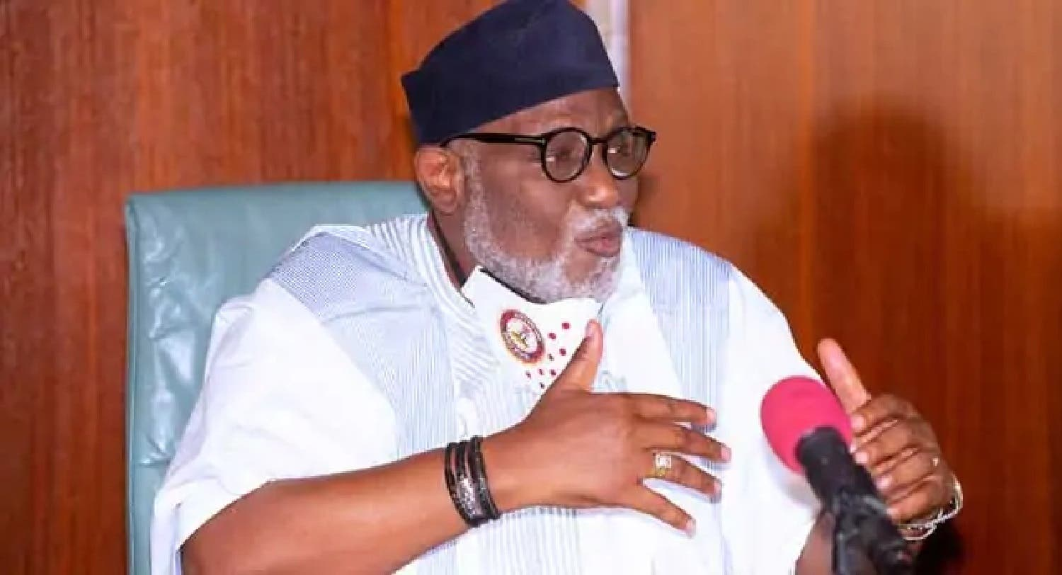 BREAKING: Akeredolu sacks Attorney-General, appoints replacement