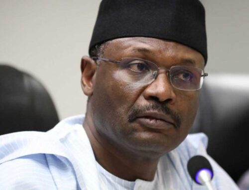 BREAKING: Buhari writes Senate, seeks confirmation of Yakubu as INEC Chairman