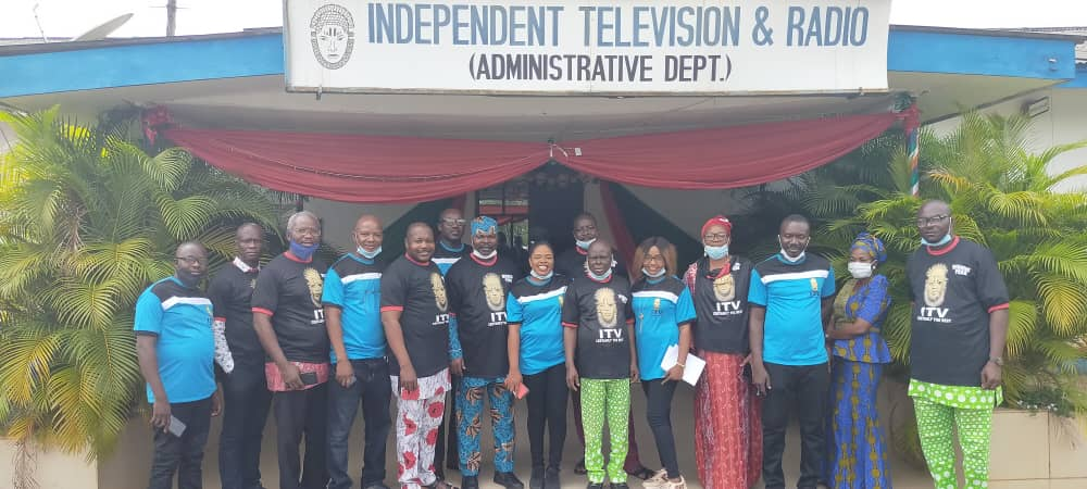 New Exco of ITV/Radio Chapel of NUJ pays courtesy call on Magt.