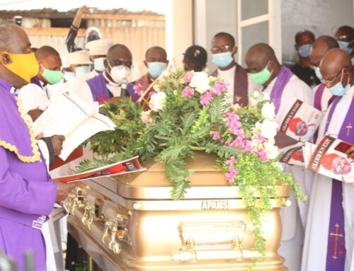 Governor Okowa's father laid to rest
