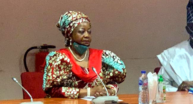 BREAKING: Senate rejects Buhari's Aide, Lauretta Onochie as INEC Commissioner