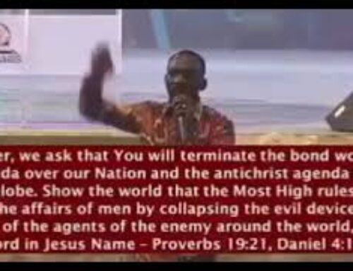 Compulsory vaccination is from the pit of hell – Dr Paul Enenche (VIDEO)